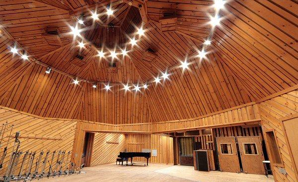 The Power Station-studio waar The River werd opgenomen.