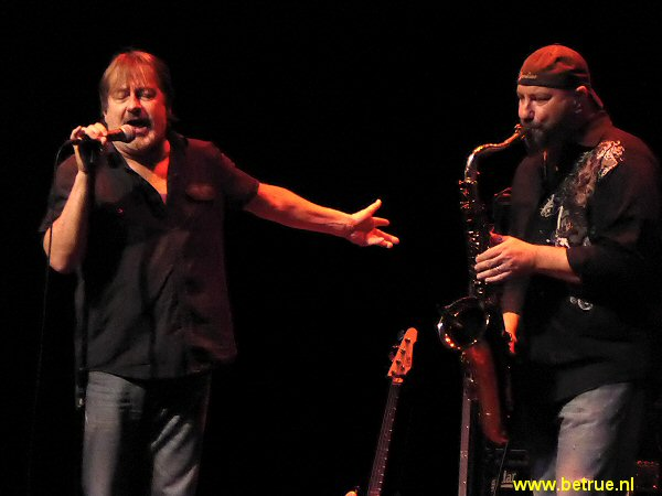 Southside Johnny en saxofonist John Isley